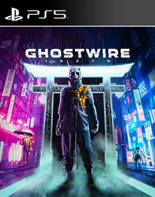 Ghostwire Tokyo Video Game Playstation 5 (PS5)