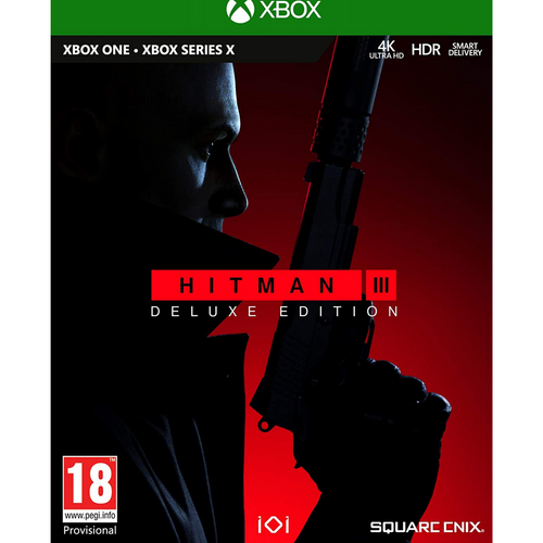 Hitman 3 Delux Edition Xbox One Video Game