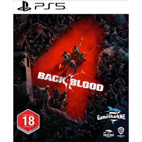 Back 4 Blood: Standard Edition PS5 Video Game Cover