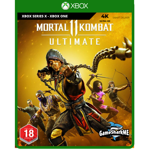 Mortal Kombat 11 Ultimate Edition XBOX Series X and XB1 Video Game