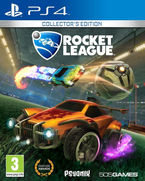 Rocket League Collectors Edition PS4 Video Game