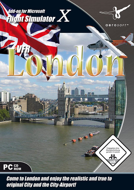 VFR London & City Airport for FSX (PC CD)
