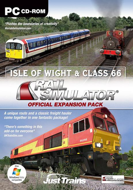 Isle Of Wight & Class 66 for Rail Simulator, Railworks & Railworks 2 (PC)