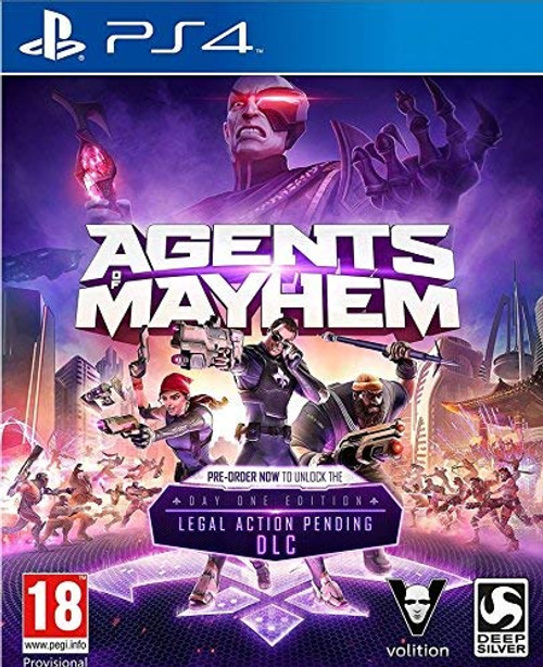 Agents of Mayhem: Day One Edition PS4