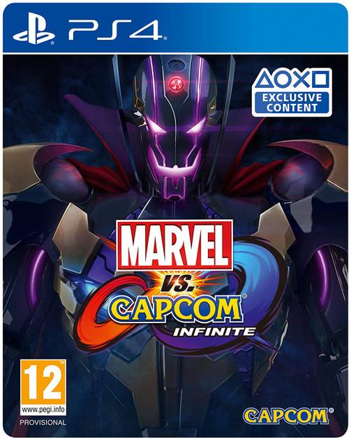 Marvel Vs Capcom Infinite Deluxe Edition PS4