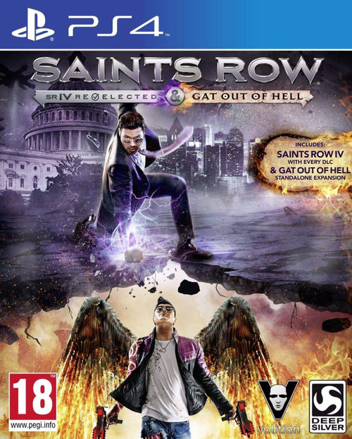 Saints Row IV: Re-Elected and Gat Out Of Hell - First Edition PS4