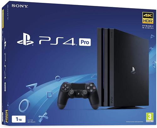 Sony PS4 Pro 1TB Console Jet Black