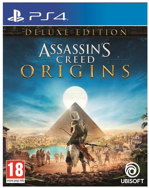Assassin's Creed: Origins - Deluxe Edition PS4