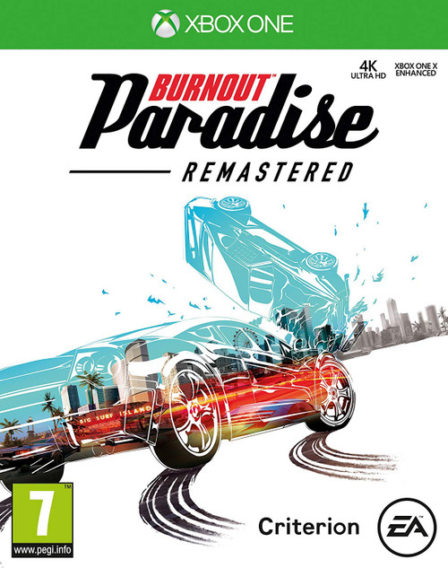 Burnout: Paradise Remastered Xbox One Video Game