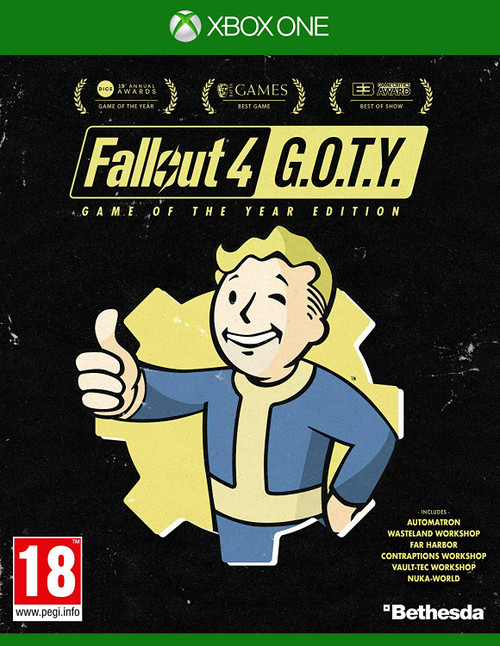 Fallout 4: Game of the Year Edition Xbox One Video Game