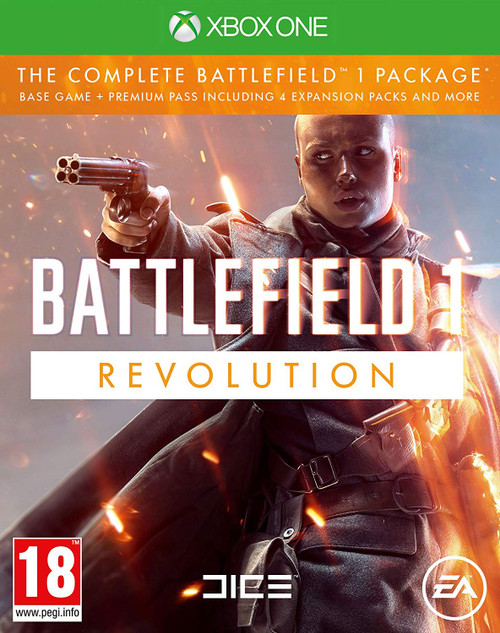 Battlefield 1 Revolution Edition Xbox One Video Game