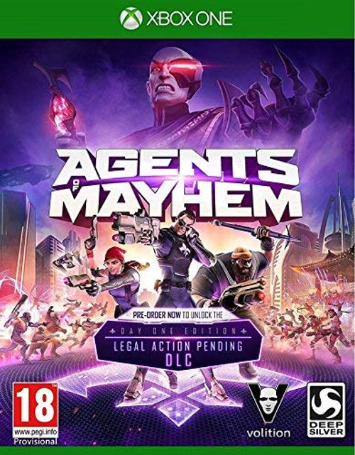 Agents of Mayhem Xbox One Video Game