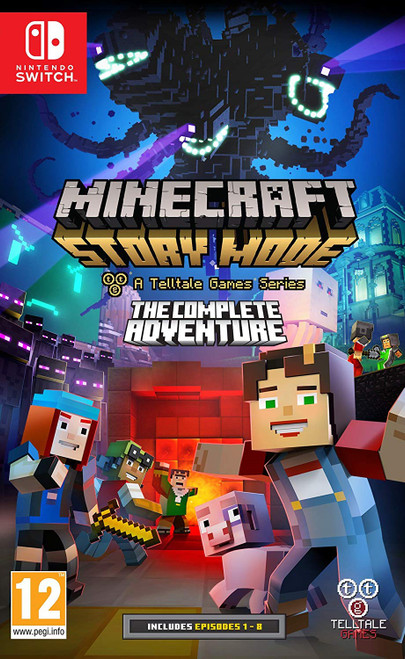 Minecraft: Story Mode: The Complete Adventure   Nintendo Switch