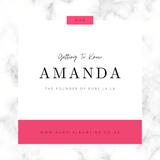 Meet Amanda -  The Founder Of Ruby La La
