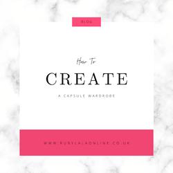 How To Create A Minimalist Capsule Wardrobe In 2021