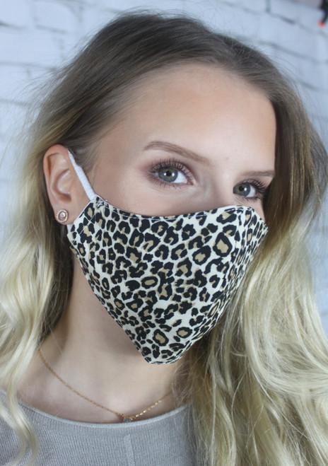 Print Mask - Leopard
