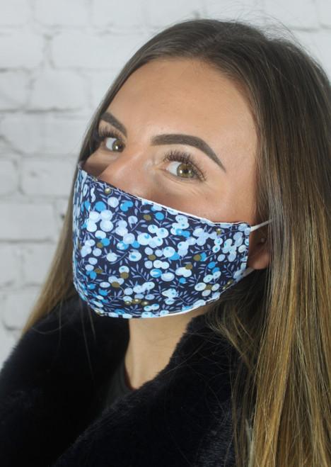 Cherry Mask - Blue