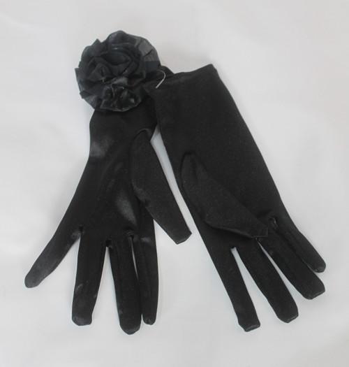 Evening Rosette Gloves
