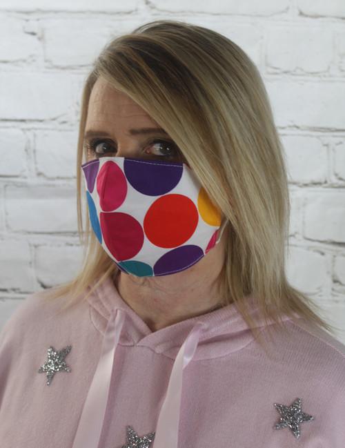 Funky Circles Facemask