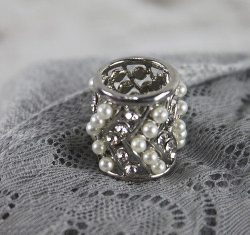 Pearl Scarf Ring