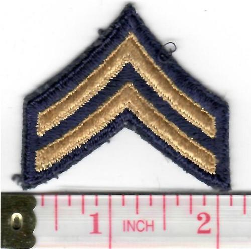 1948 - 1951 US Army Corporal Non Combat Units Chevron Inv# W479