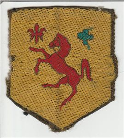Rare Off Uniform WW 2 US Army 113th Cavalry Group Patch Inv# S508