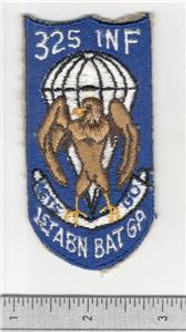 Original Post WW 2 325th Infantry 1st Airborne Battle Group Patch Inv# S997