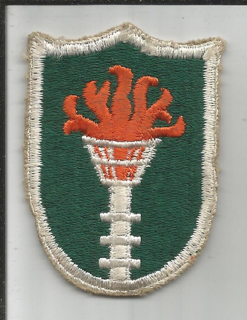 Cut Edge No Glow US Army Korean Communications Zone Patch Inv# A161