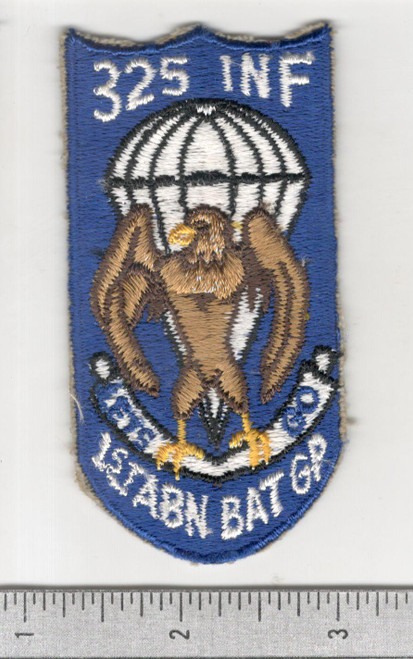 Original Post WW 2 325th Infantry 1st Airborne Battle Group Patch Inv# B801