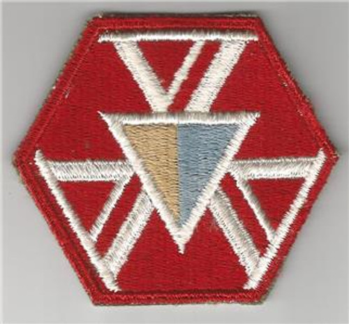 WW 2 US Army 466th Quartermaster Battalion (Mobile/Airborne) Patch Inv# G210