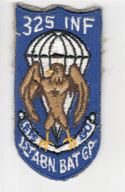 Original Post WW 2 325th Infantry 1st Airborne Battle Group Patch Inv# P831