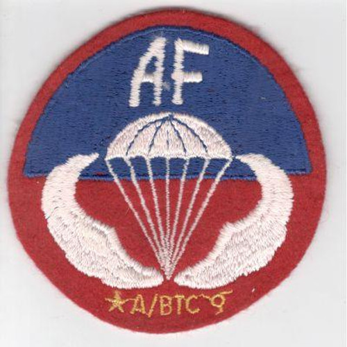 Allied Forces Airborne Training Center Sicily Patch Inv# V973