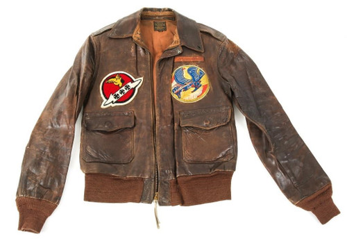 WW 2 A-2 Jacket 82nd & 464th FS 78th & 507th FG 7th & 8th Air Force J D Cornett