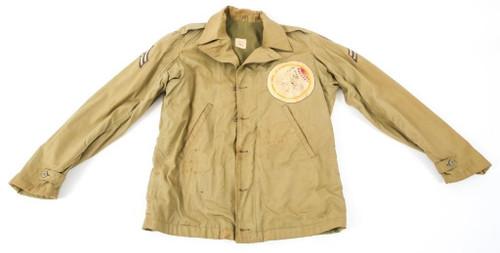 "WW 2 M41 37th Fs 14th FG 15th AF Jacket Named to Corporal W D "" Rocky "" Davis Jr"