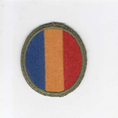 WW 2 US Army Replacements and School Command Patch Inv# J541