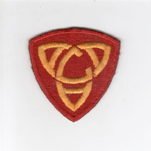 WW 2 US Army Anti-Aircraft Command Eastern Patch Inv# E681