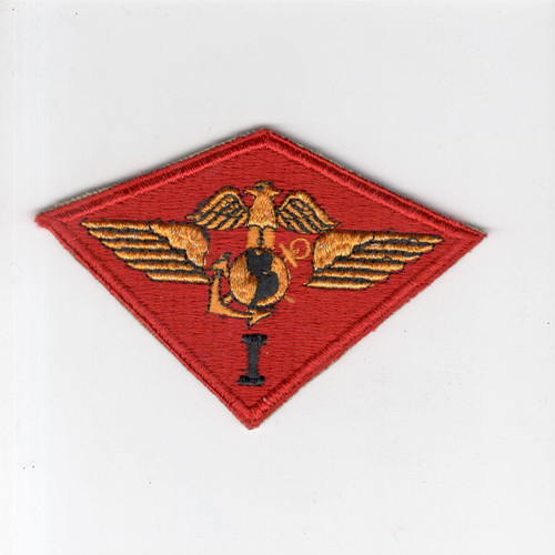 WW 2 USMC Marine 1st Air Wing Patch Inv# F019