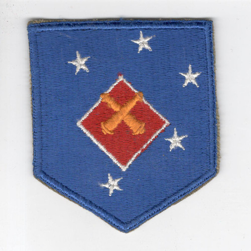 WW 2 USMC 1st Marine Amphibious Corps Artillery Patch Inv# G919