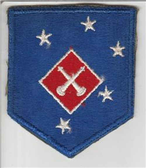 WW 2 USMC 1st Marine Amphibious Corps Artillery Battalion Patch Inv# S739