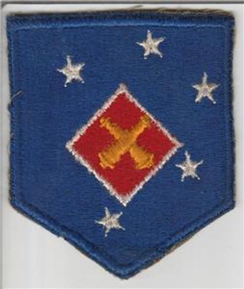 WW 2 USMC 1st Marine Amphibious Corps Artillery Battalion Patch Inv# S757