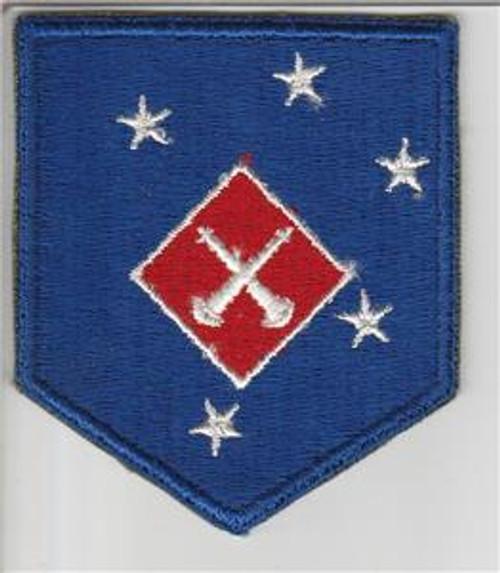 WW 2 USMC 1st Marine Amphibious Corps Artillery Battalion Patch Inv# S746