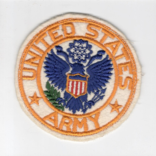 "4"" WW 2 United States Army Jacket PX Wool Patch Inv# H255"