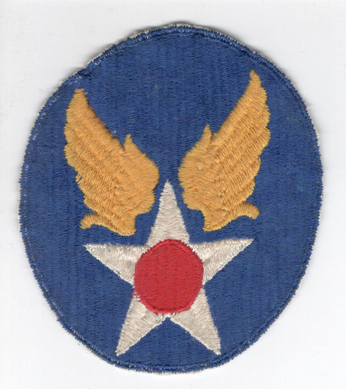 "3-1/2"" X 3"" WW 2 US Army Air Force Patch Inv# Z684"