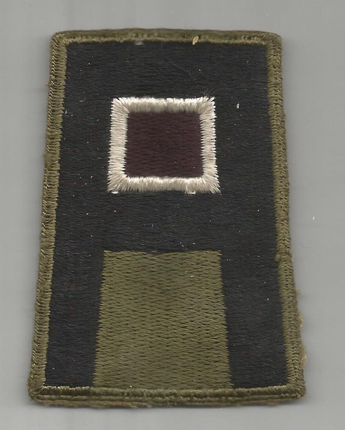 WW 2 US Army 1st Army Medical Greenback Patch Inv# A377