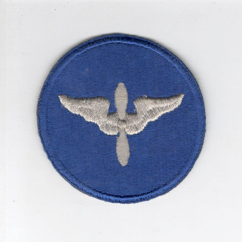 Rare Silver Wing & Prop WW 2 US Army Air Force AC Cadet Patch Inv# D236