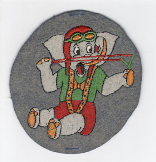 """5"""" WW 2 43rd Troop Carrier Sqd 315th TCG 9th Troop Carrier Cmd Patch Inv# L225"""