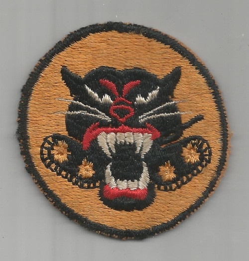Empty Mouth 4 Wheel WW 2 US Army Tank Destroyer Patch Inv# A530