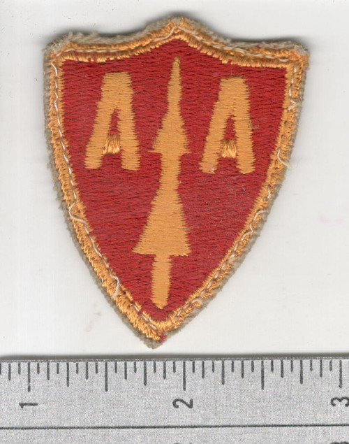 Cut Edge No Glow Anti Aircraft Artillery Cmd Patch Inv# S855