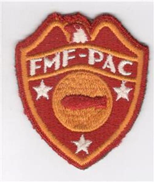 WW 2 USMC FMF-PAC ( Fleet Marine Force Pacific ) Bomb Disposal Patch Inv# Z319