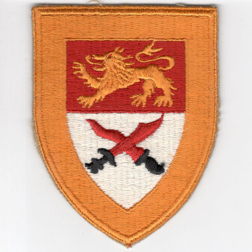 VHTF WW 2 US Army 17th Cavalry Squadron Greenback Patch Inv# G961